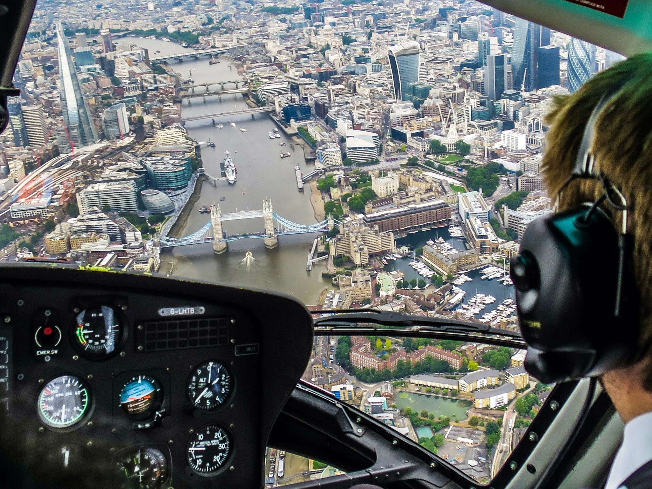 London Helicopter Tour - 18 min