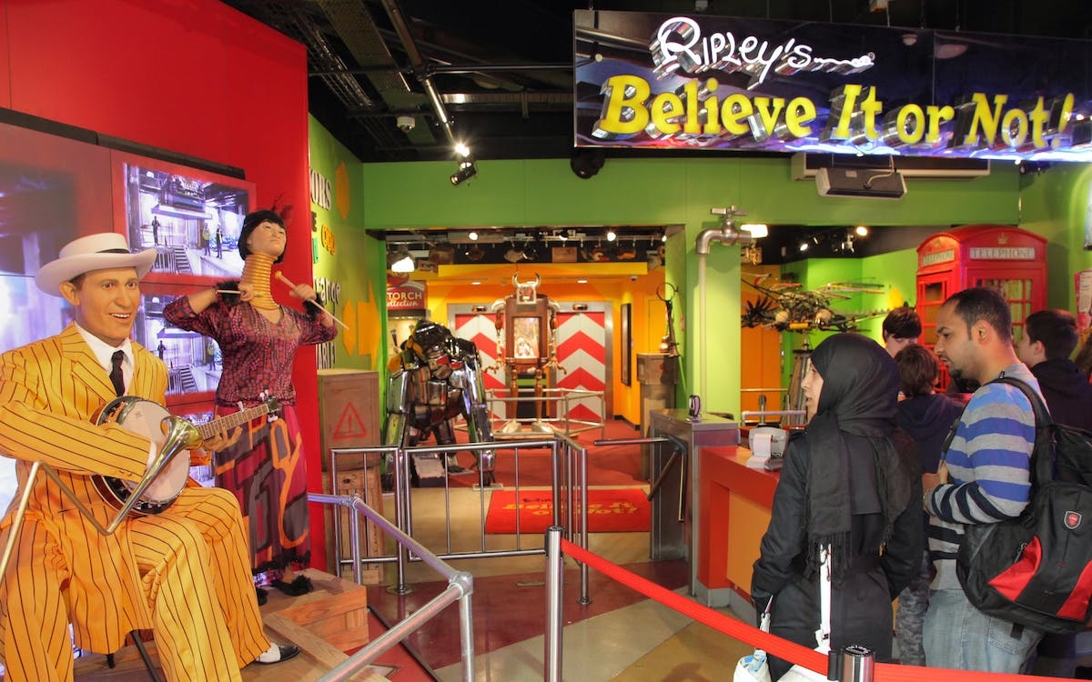 ripley's believe it or not - planet hollywood package-1
