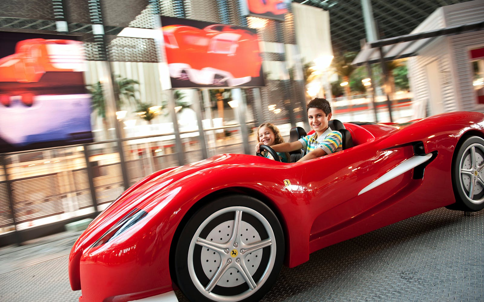 ferrari world - one day park access-1