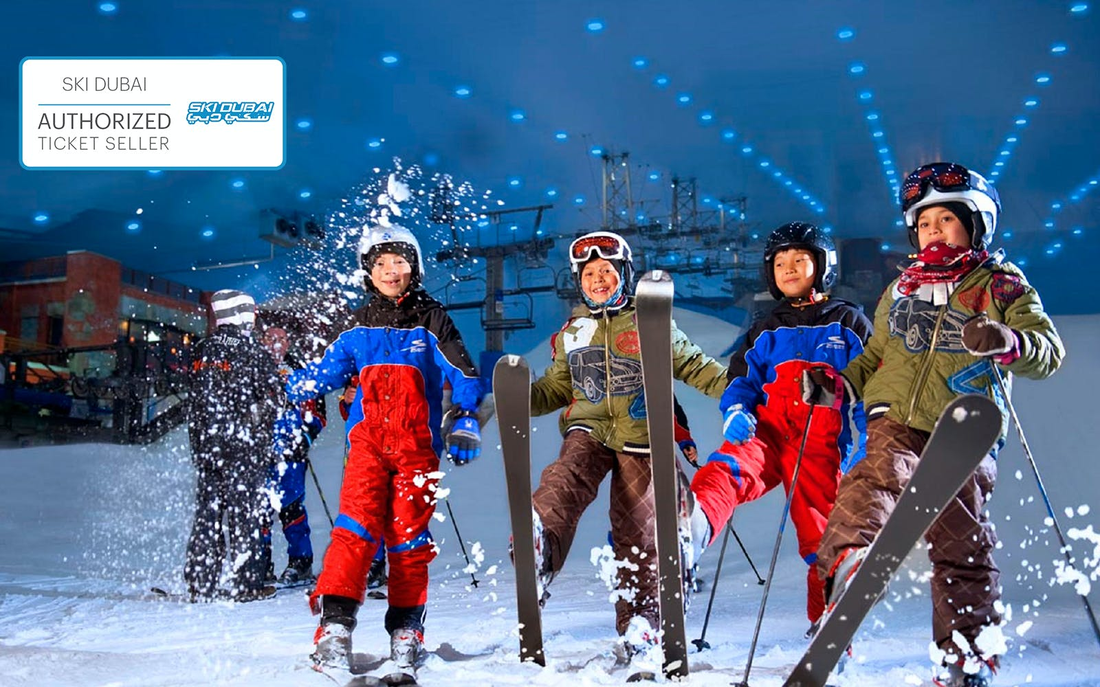 Ski Dubai tickets : Skiing session