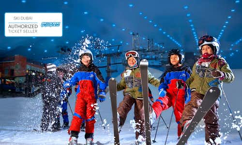 Best Theme Parks Dubai - Ski Dubai - 2