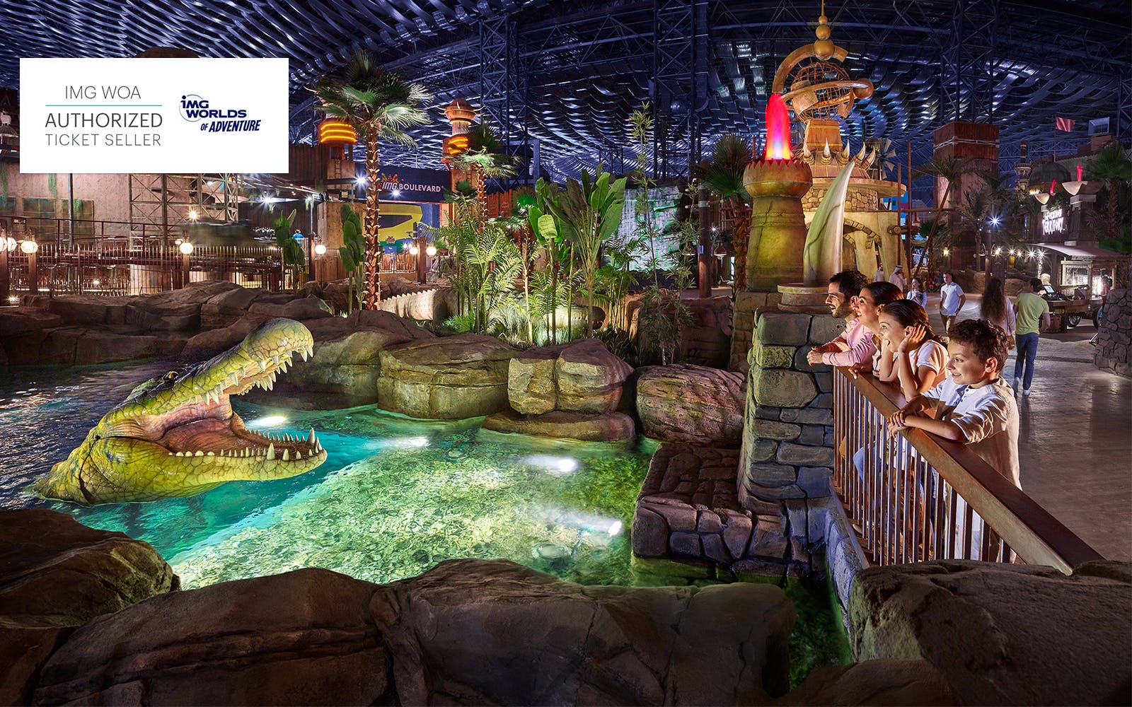 Dubai with kids - IMG Worlds of Adventure - 2