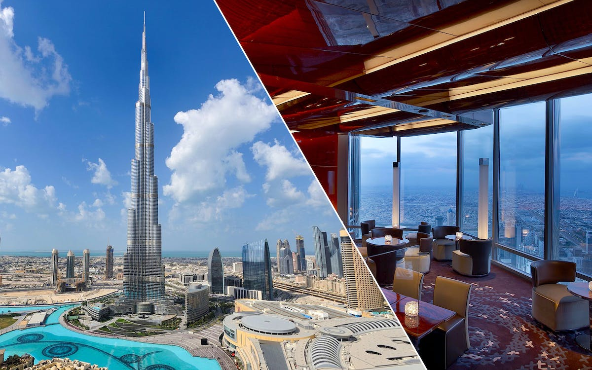 burj khalifa: at the top (level 124 & 125) & 3-course meal-1