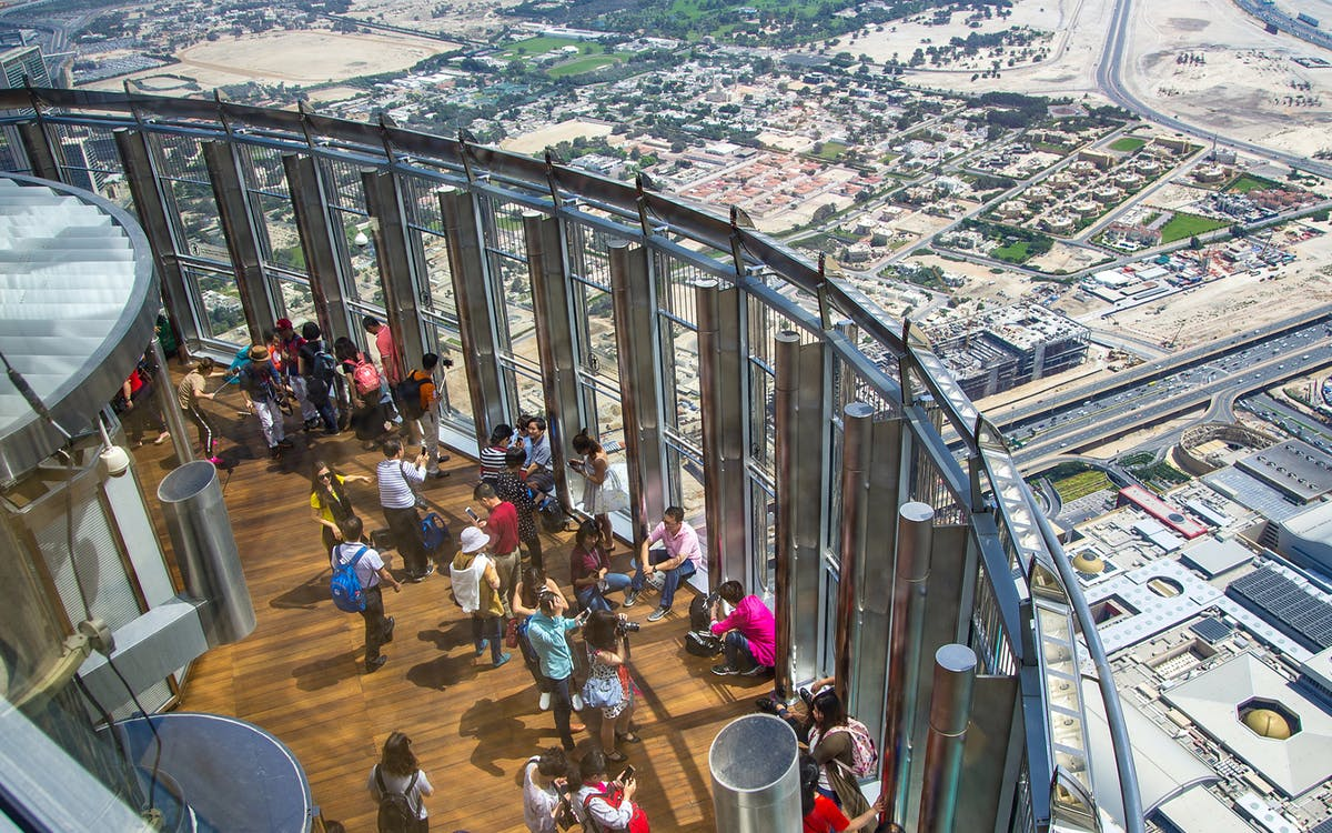 burj khalifa: at the top (level 124 & 125) & 3-course meal-4