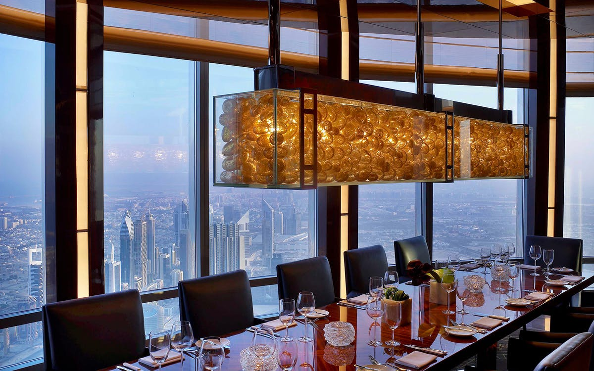 burj khalifa: at the top (level 124 & 125) & 3-course meal-3