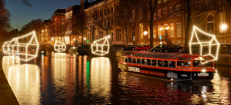 Amsterdam Lights Festival: Water Color Cruise