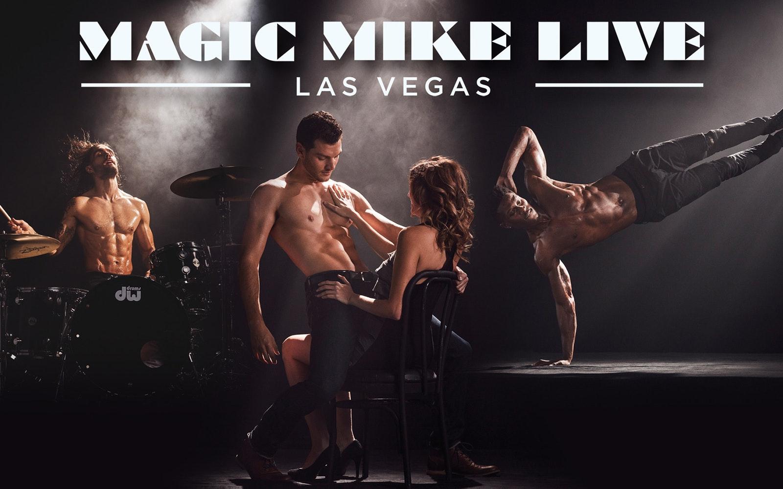 Cheap Las vegas show tickets- Magic Mike
