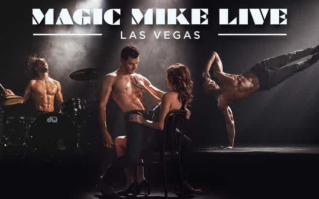 Cheap Las vegas show tickets- Magic Mike