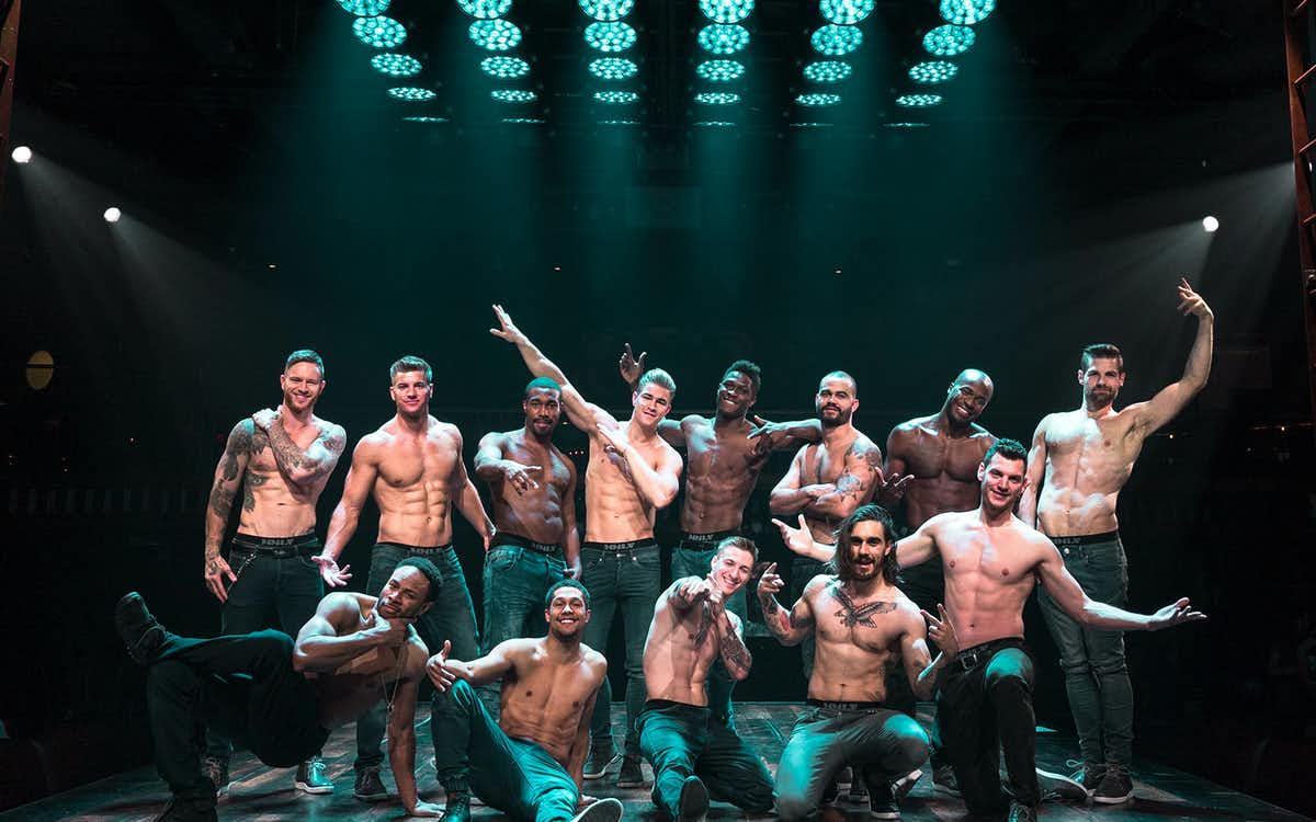 magic mike live at las-vegas