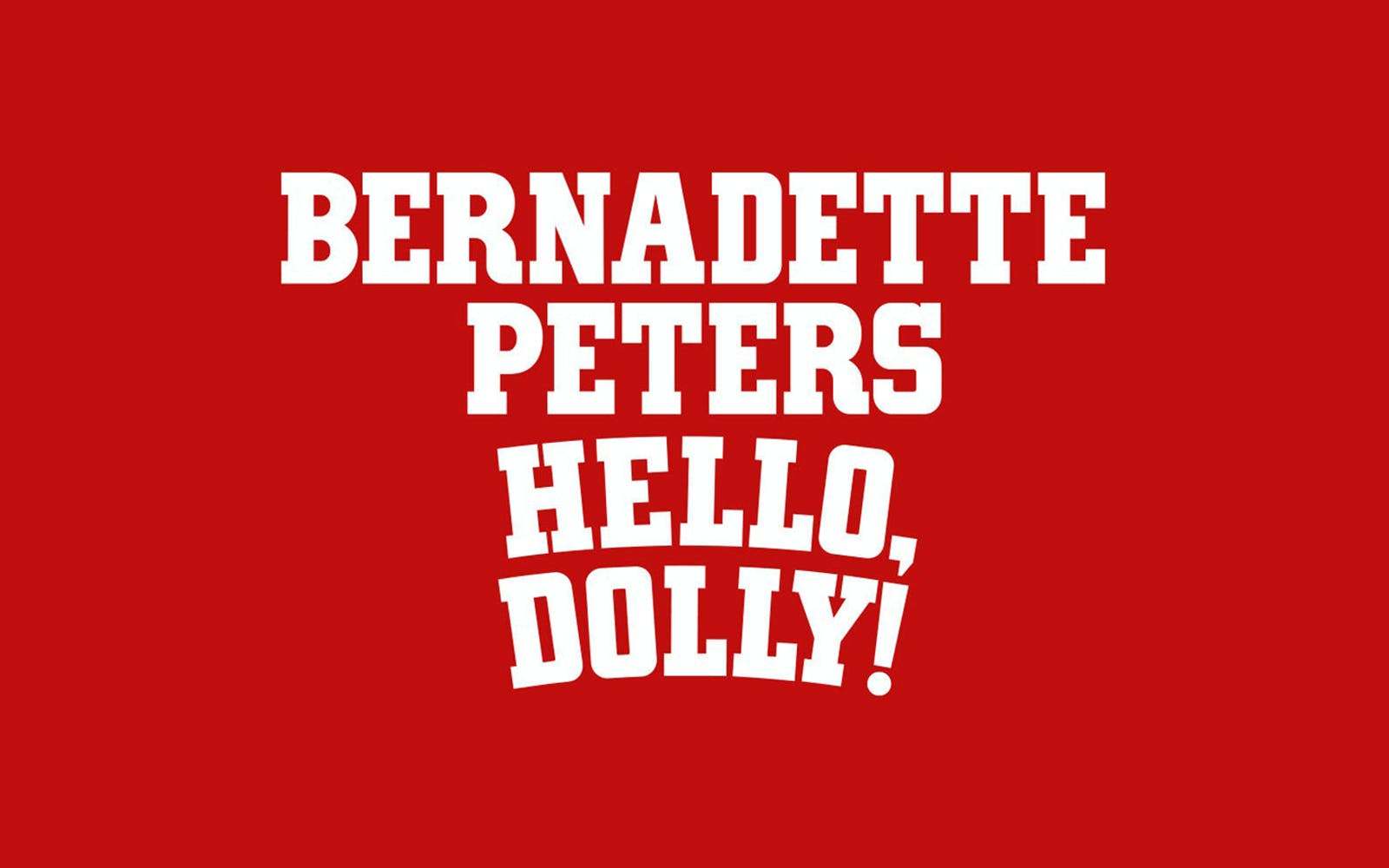 Hello Dolly broadway 1