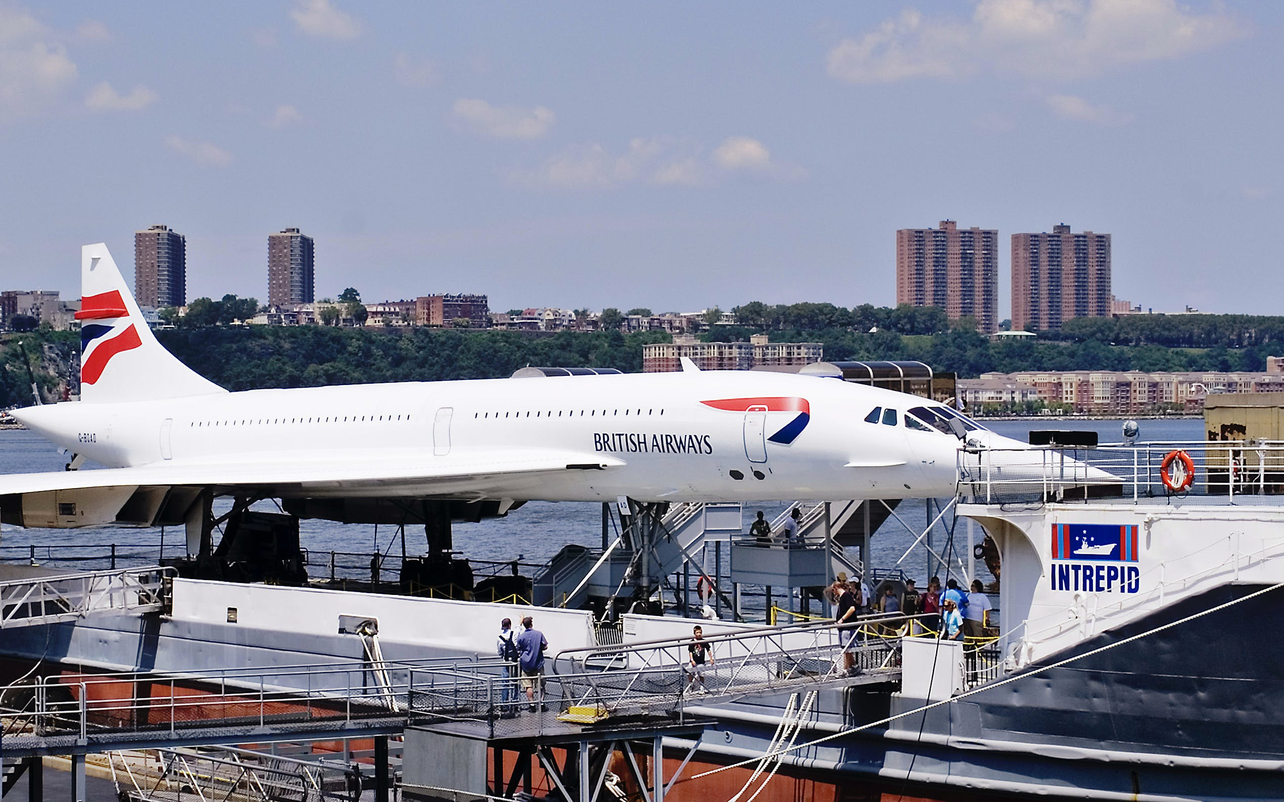 concorde: a supersonic story guided tour + admission tickets to intrepid-2