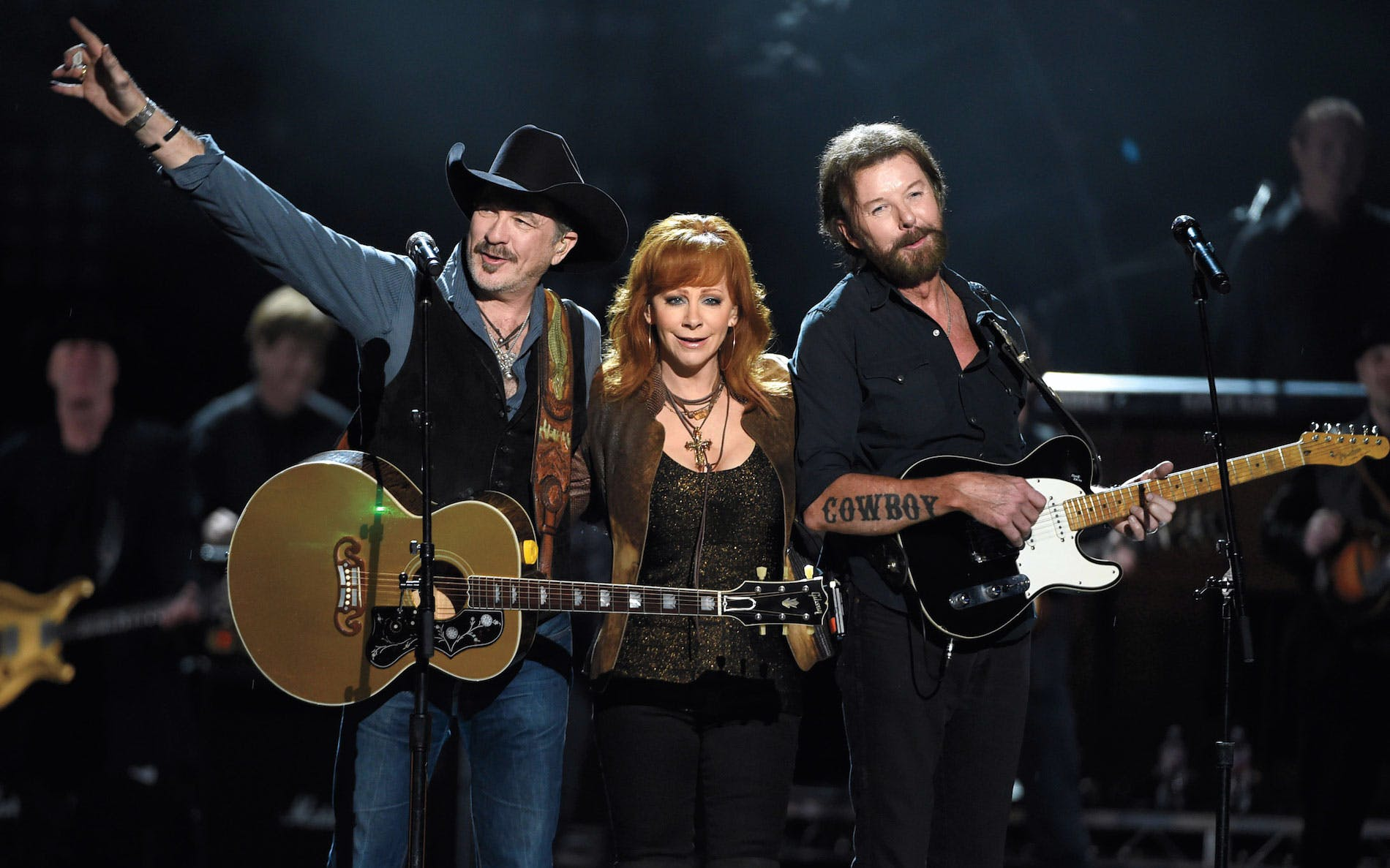 reba, brooks & dunn: together in vegas - country music -3