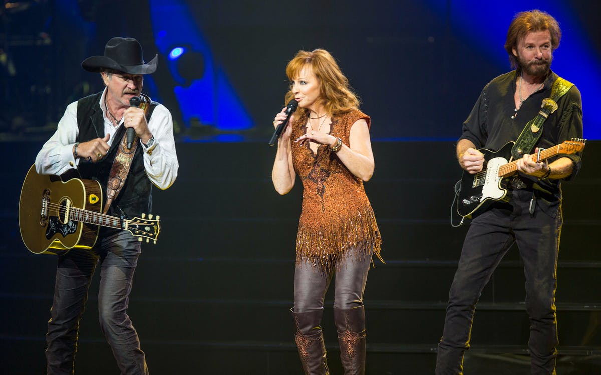 reba, brooks & dunn: together in vegas - country music -1