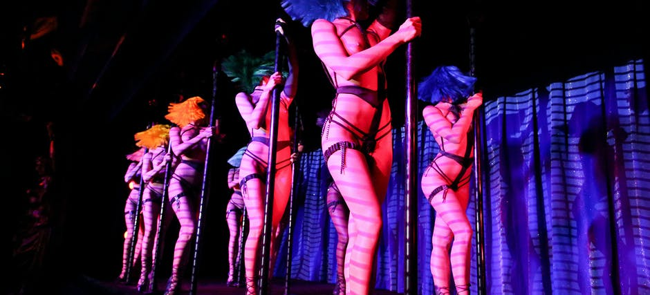 Crazy Horse Paris Show with Champagne