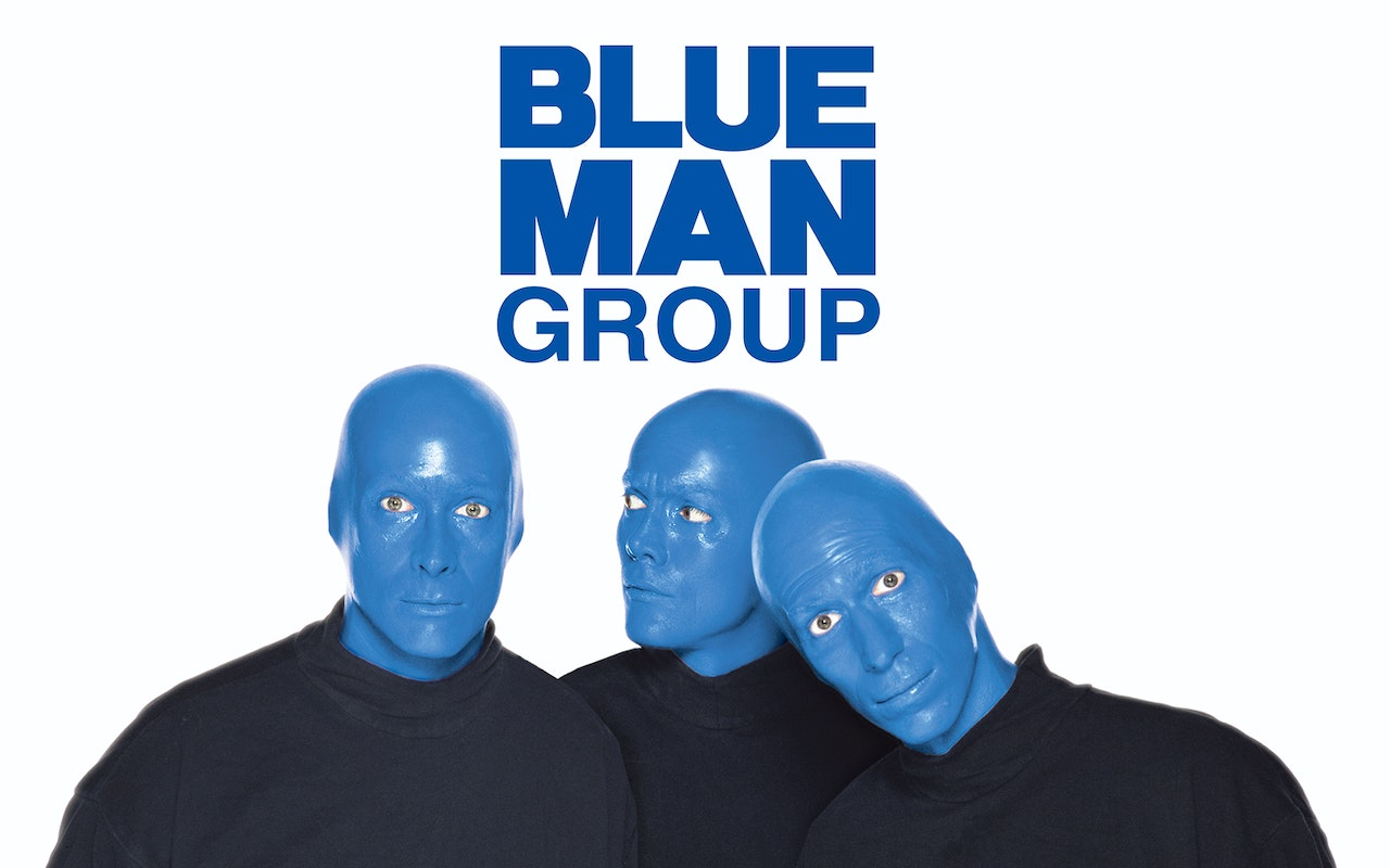 Blue Man Group Show Cover Photo