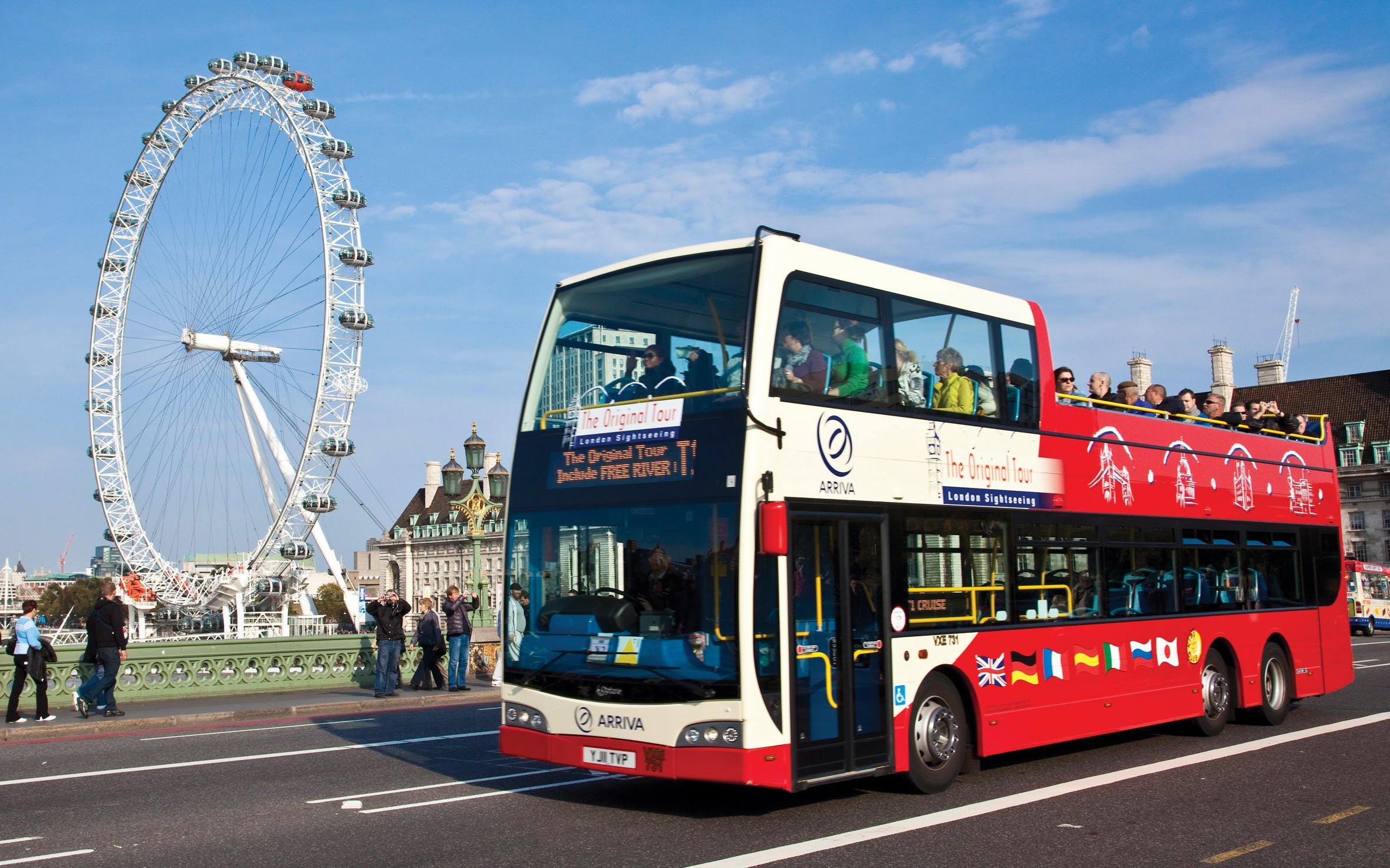 The Original London Hop-On Hop-Off Sightseeing Tour