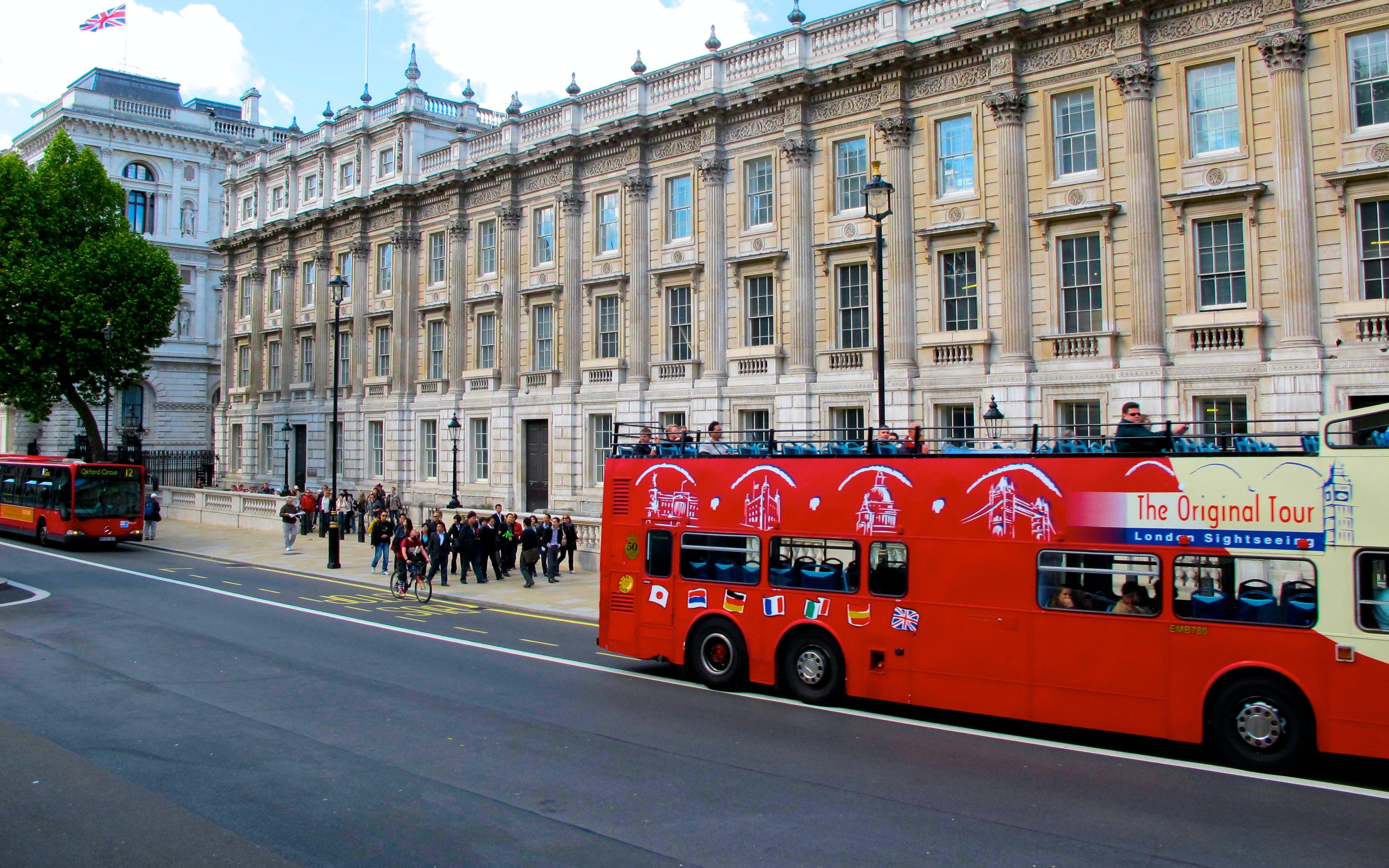 london hop on hop off bus tours - 1