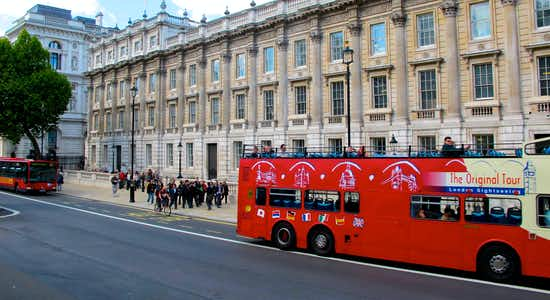 london hop on hop off bus tours - 1