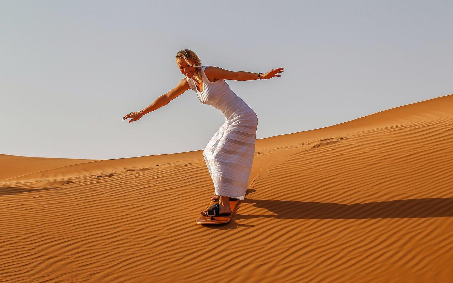 adventure desert safaris sand boarding