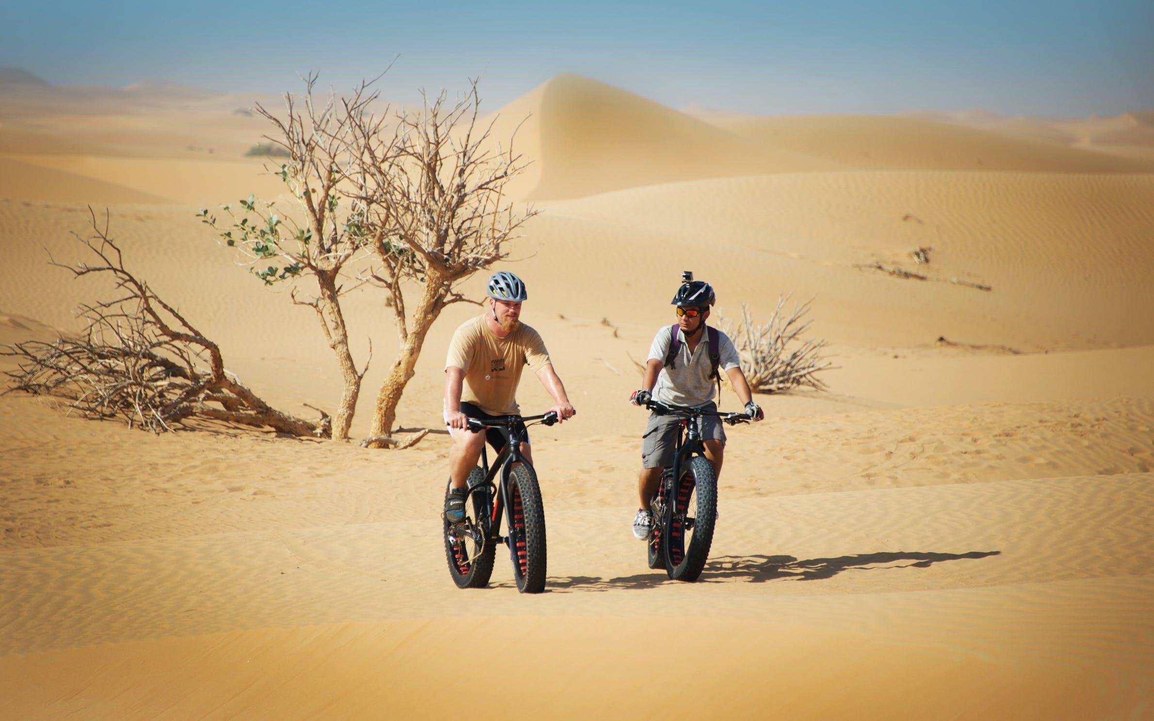 adventure desert safaris fat bike