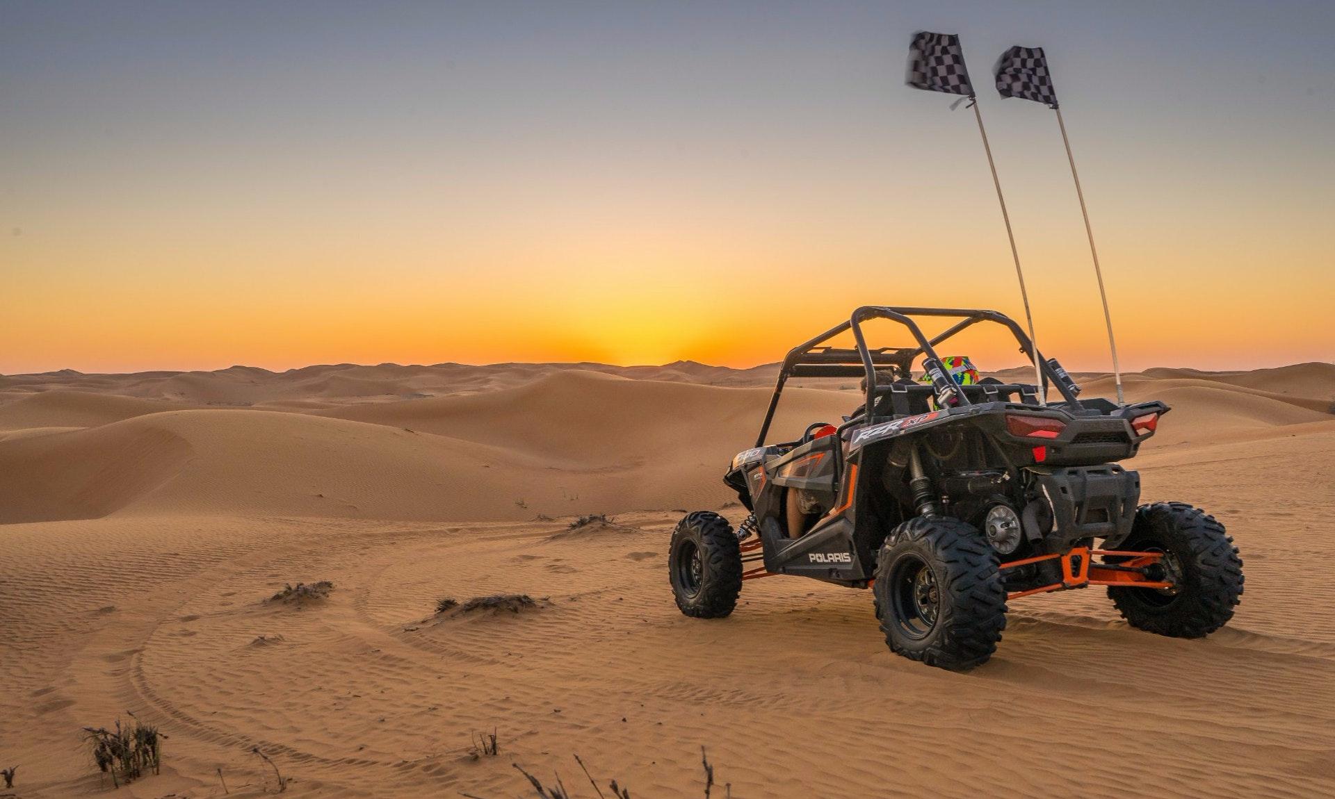 Dune buggy riding