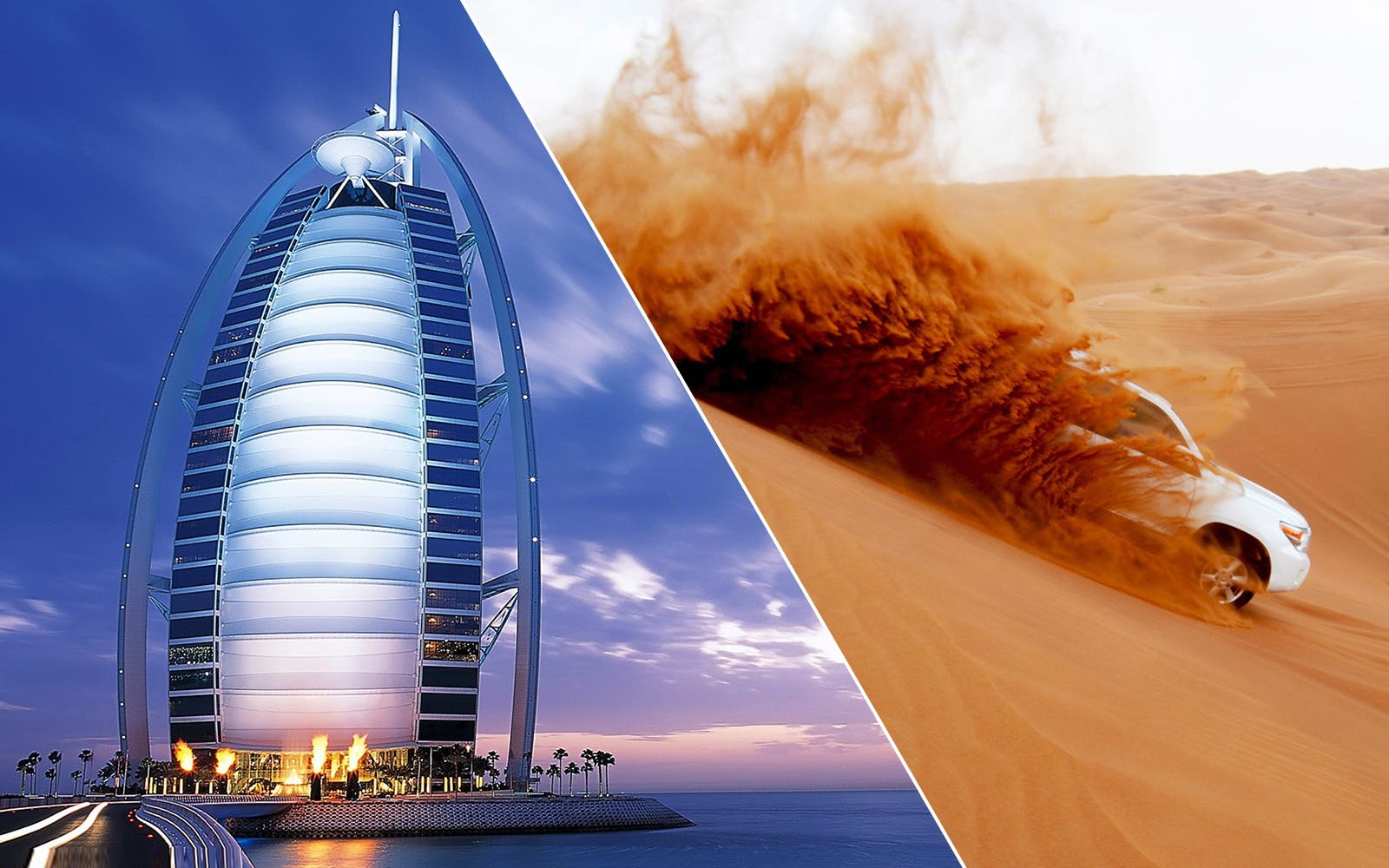 Dubai City Tour & Desert Safari Combo