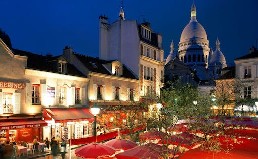 Musical Dinner at Montmartre and Moulin Rouge show