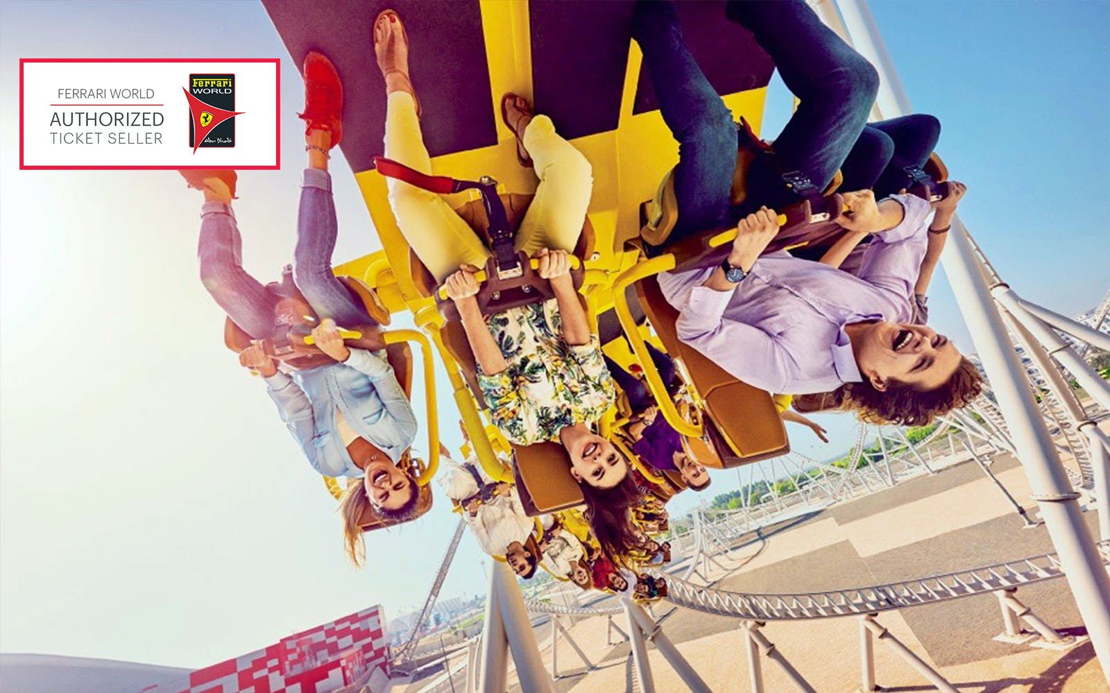 Ferrari World Tickets with All Ride Quick Pass