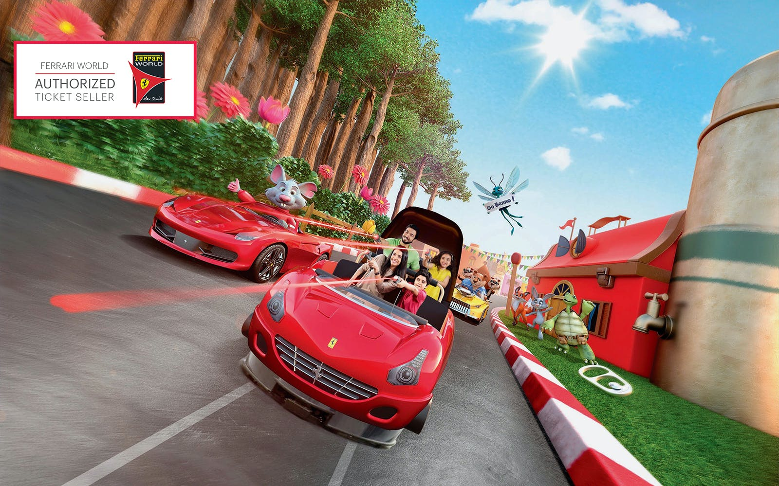 ferrari world tickets with all ride quick pass-3