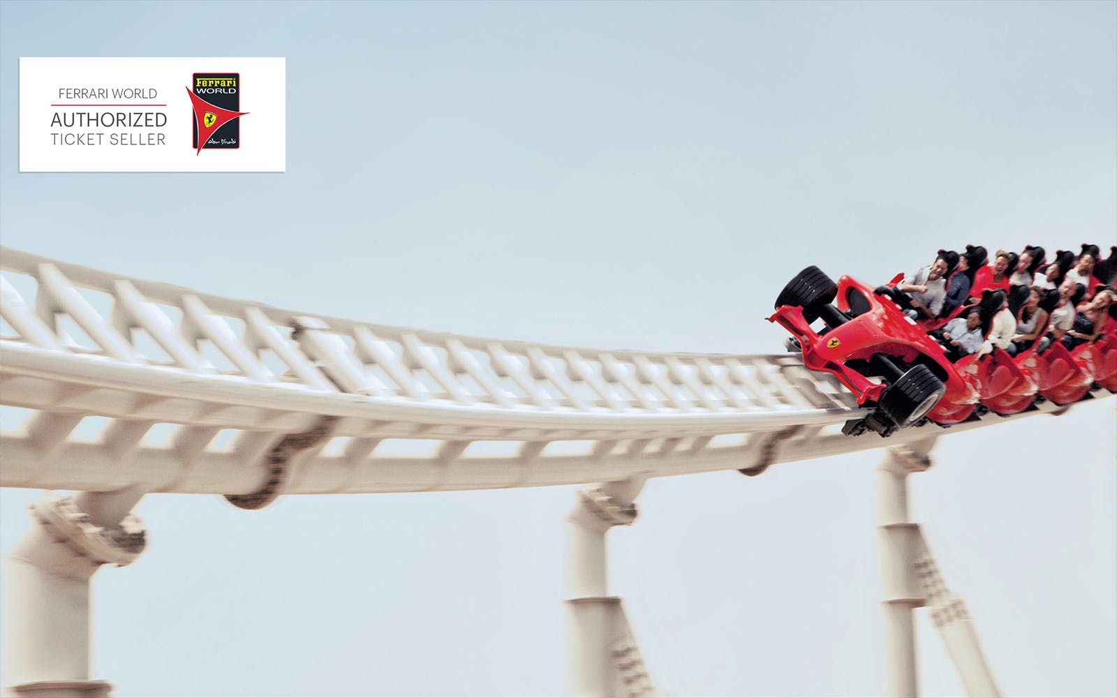 ferrari world with 3 ride quick pass with transfers-3