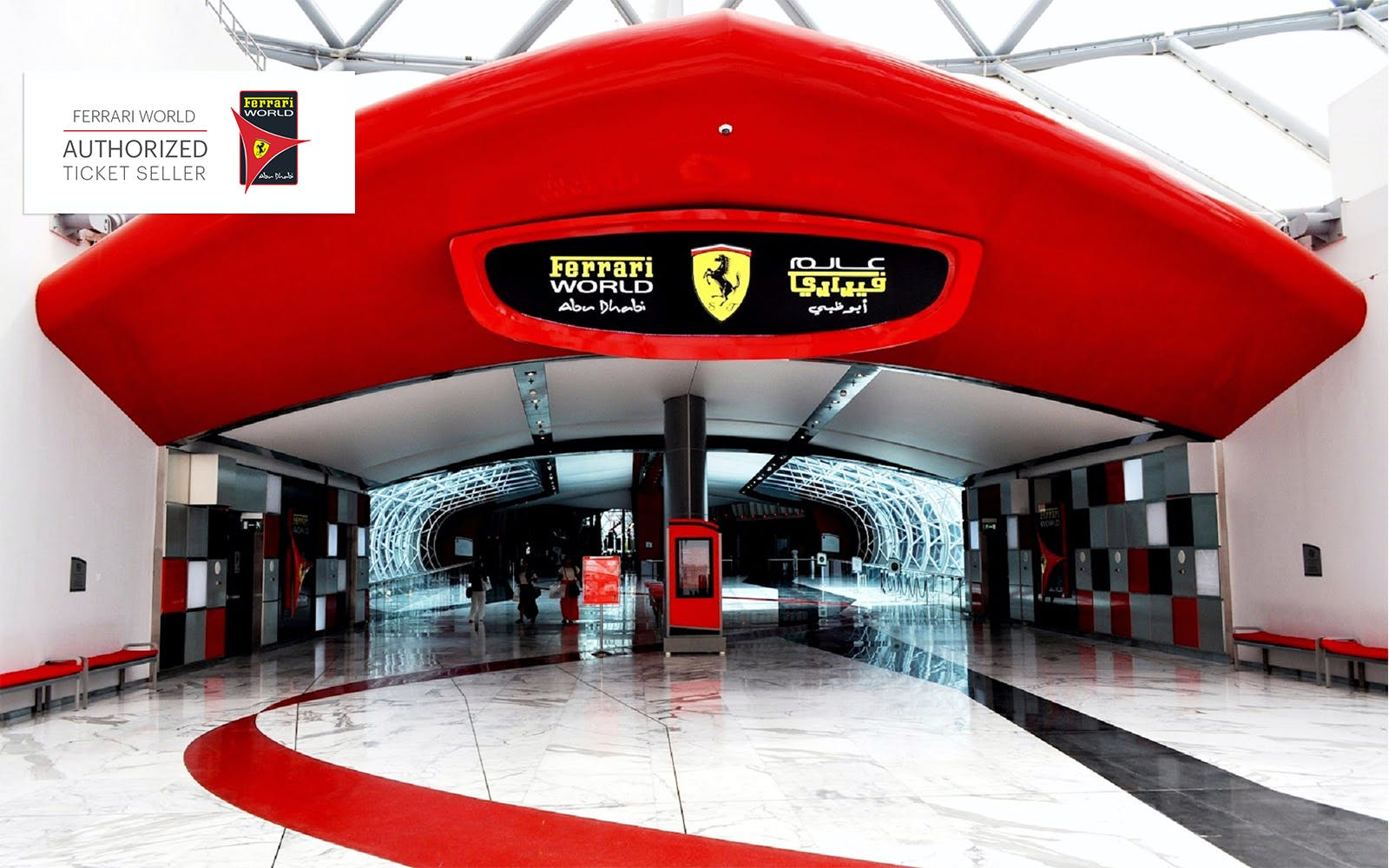 Ferrari World Gold Pass With Transfers