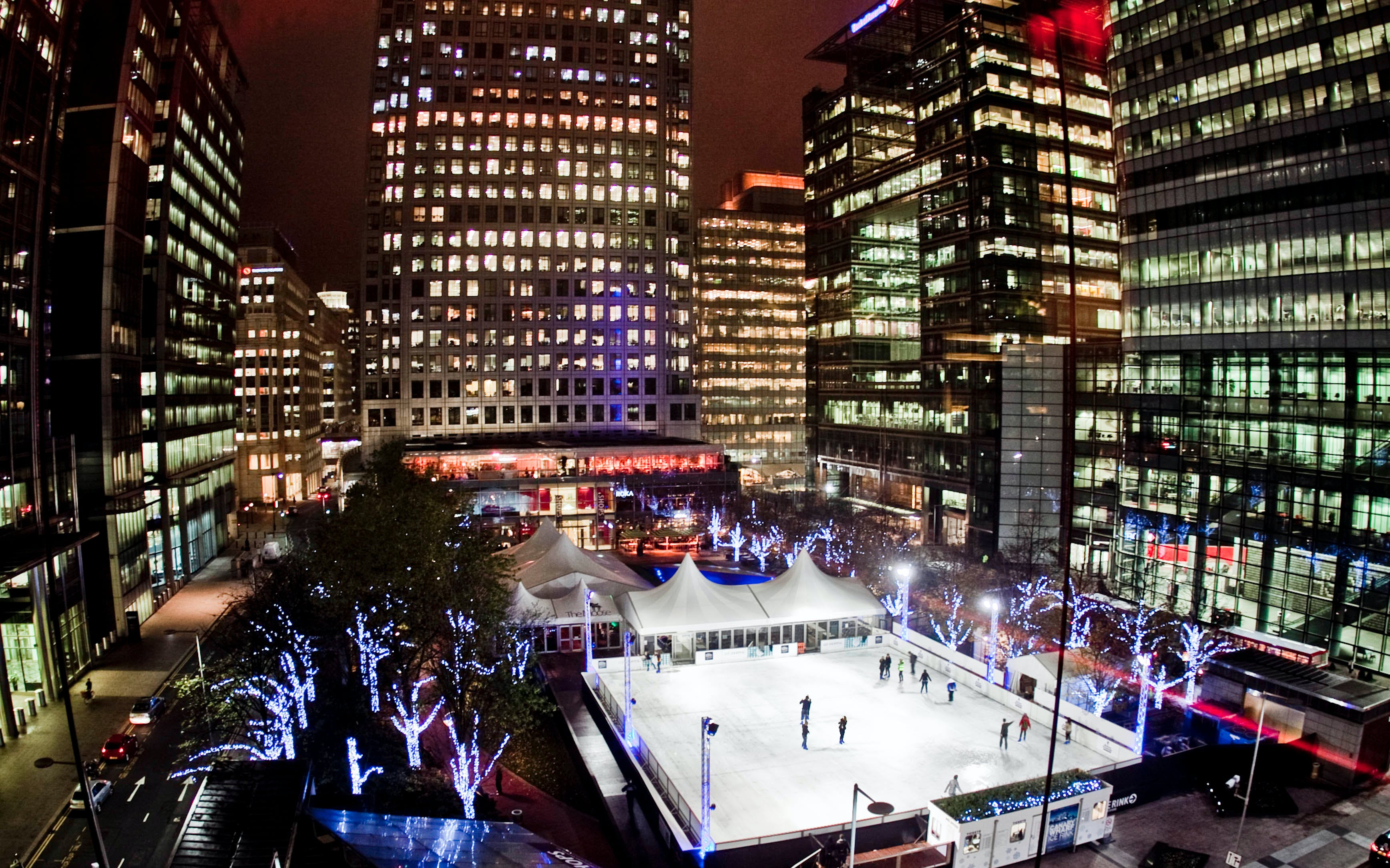 Christmas Magic at the Canary Wharf Ice Rink