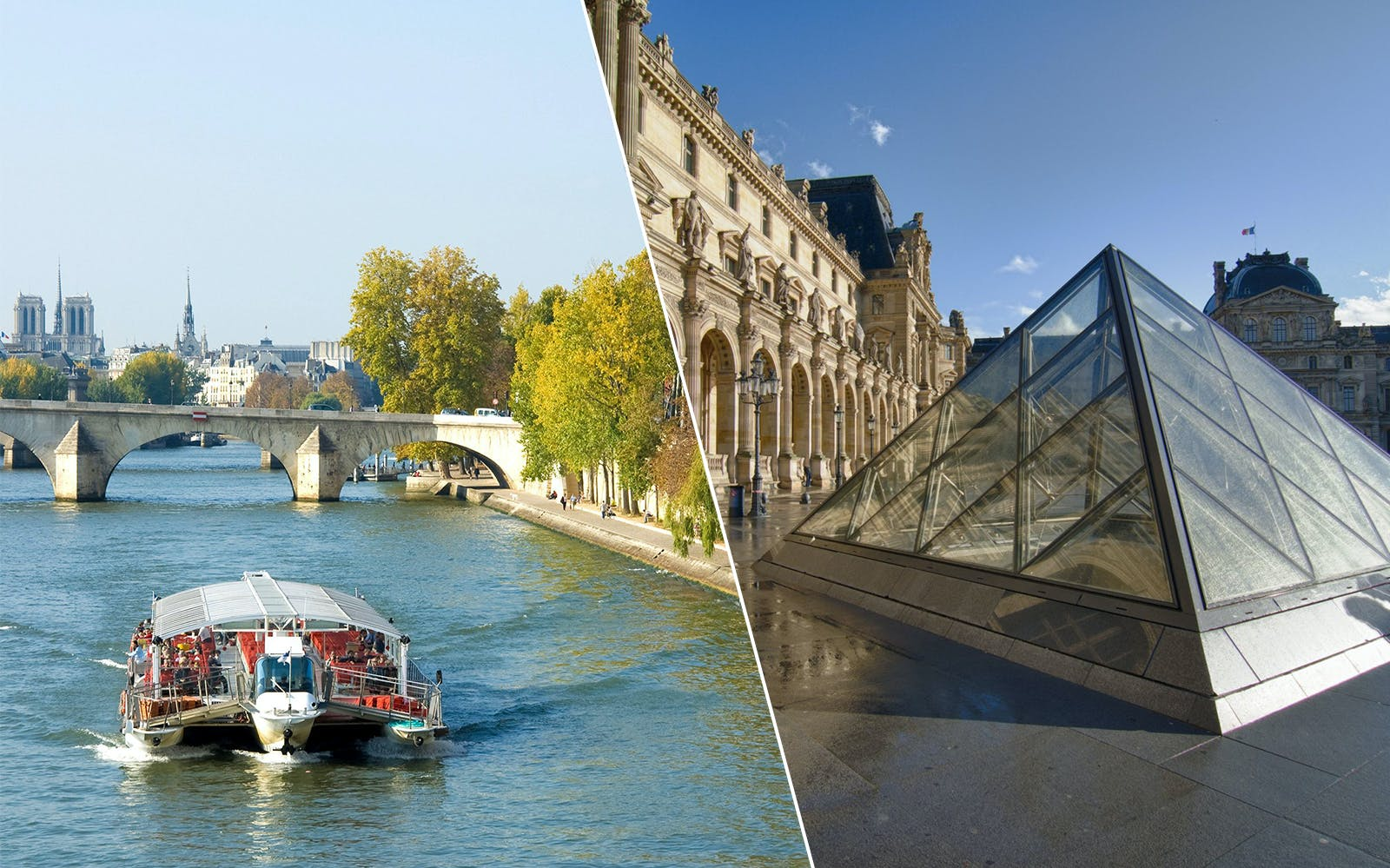 Dedicated Entrance Tickets to Louvre Museum + Seine River Cruise