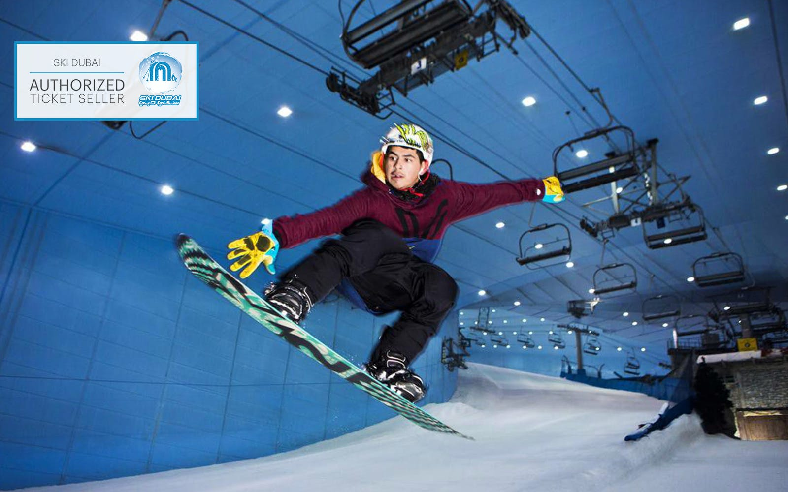 Ski Dubai tickets: Snowboarding session