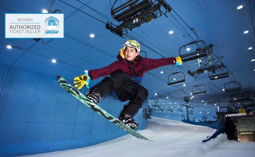 Ski Dubai: 2 Hour Snowboarding Session