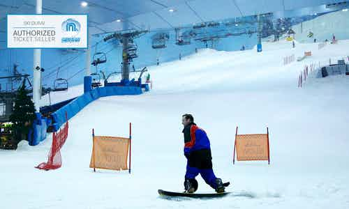 5 Day Dubai Itinerary - Ski Dubai - 3