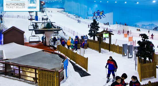 Ski Dubai tickets : Polar Express Pass