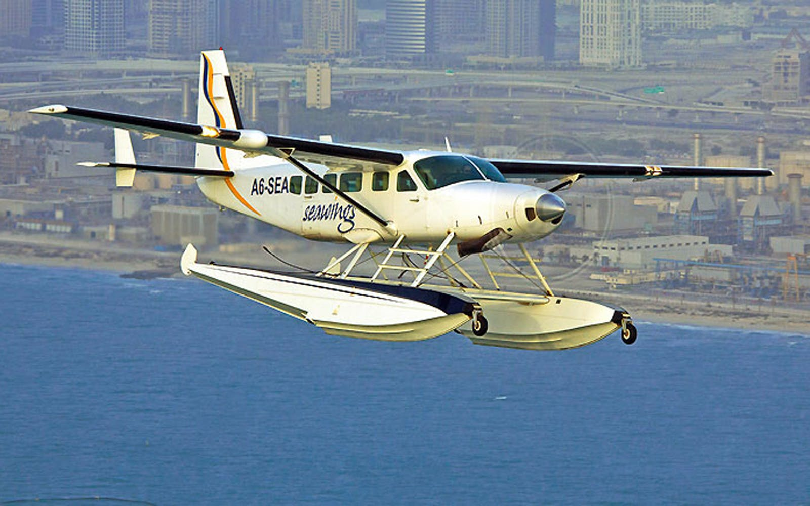 Seaplane Tour and Private Heritage Tour (RAK to Dubai)