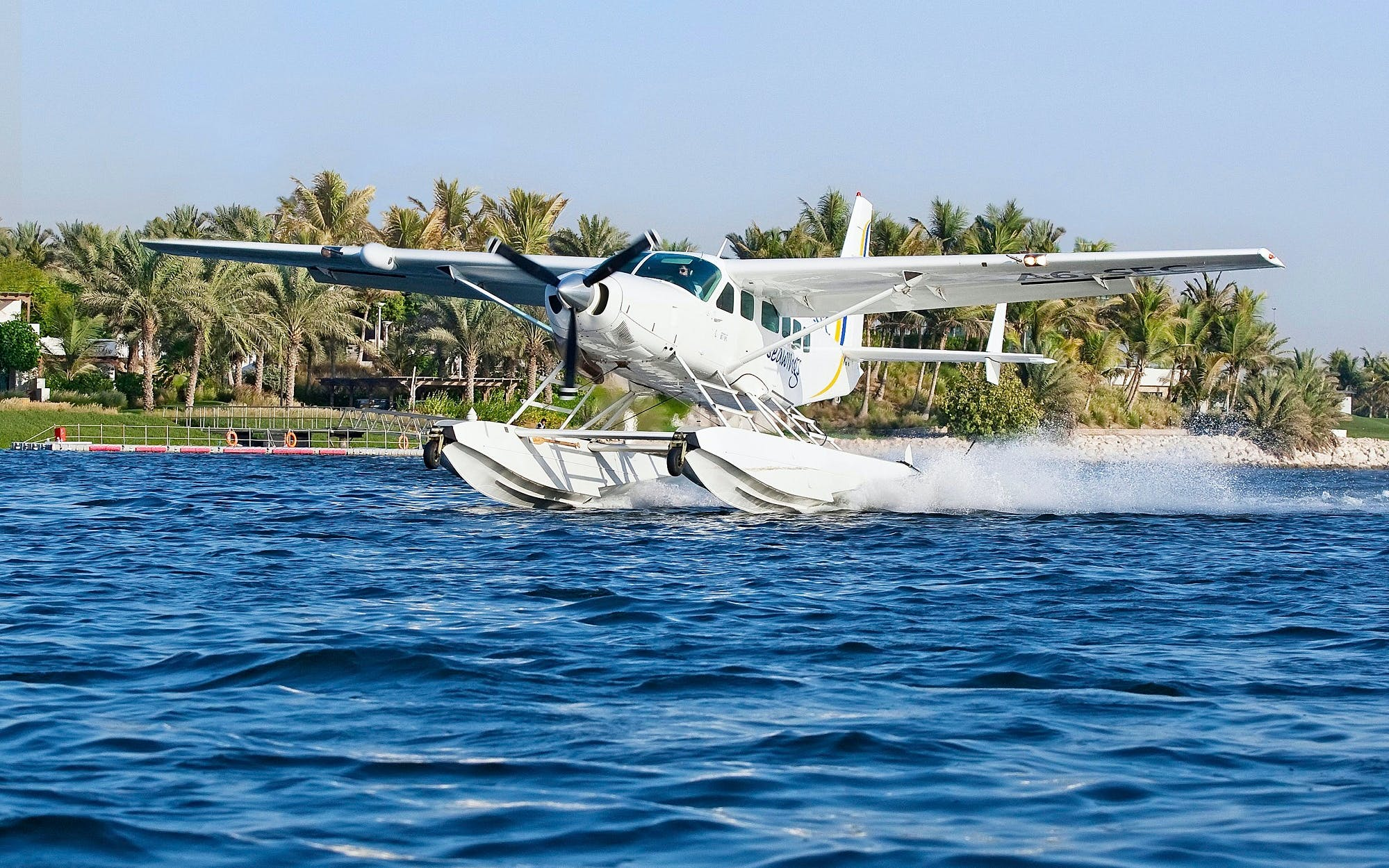 Seaplane Tour and Camel Ride (Dubai to Ras Al Khaimah)