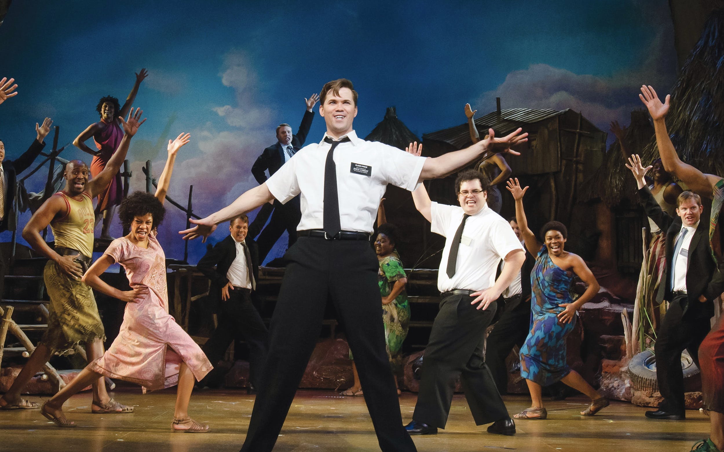 The Book of Mormon broadway lottery