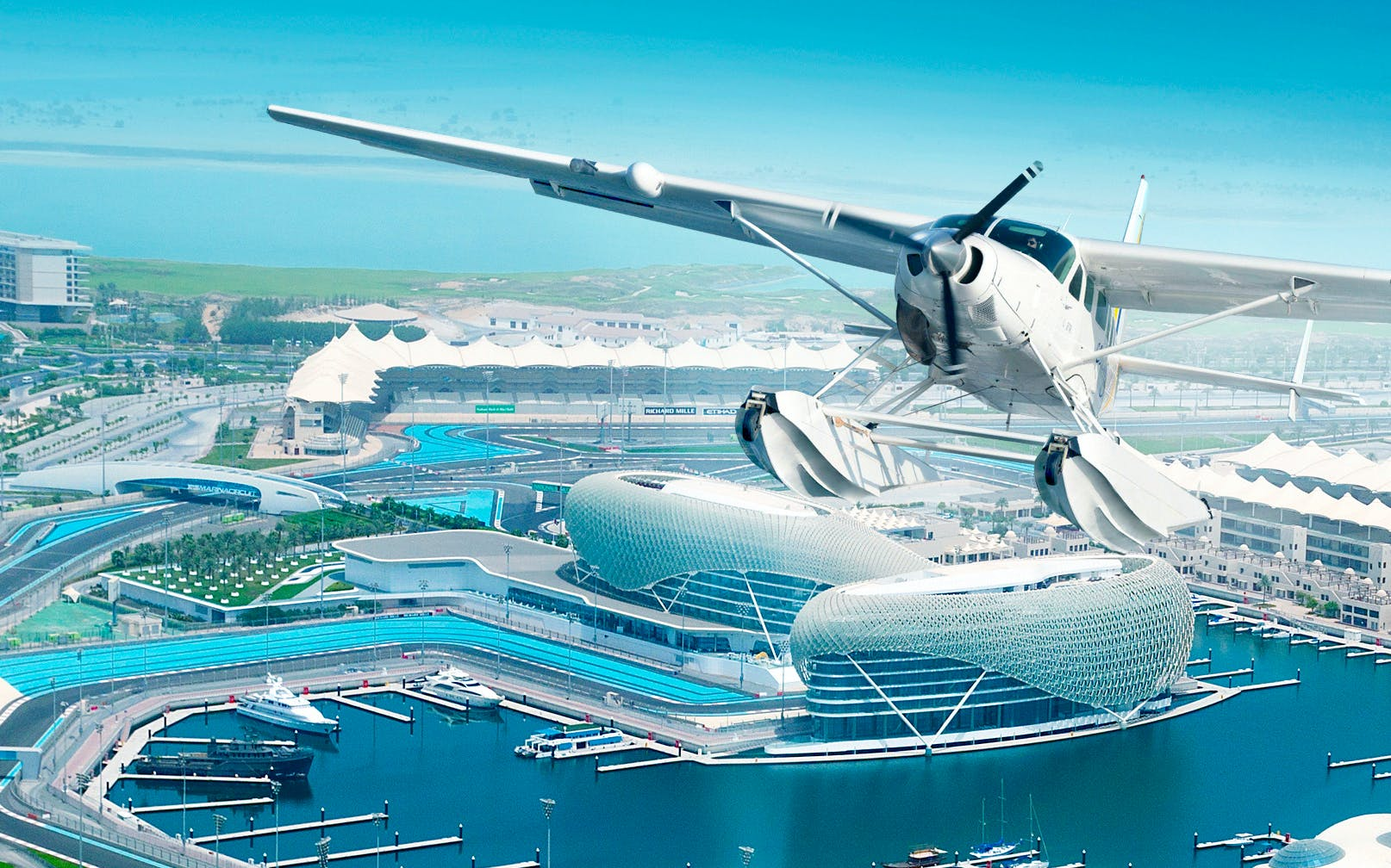 Seaplane Tour and Abu Dhabi Snapshot