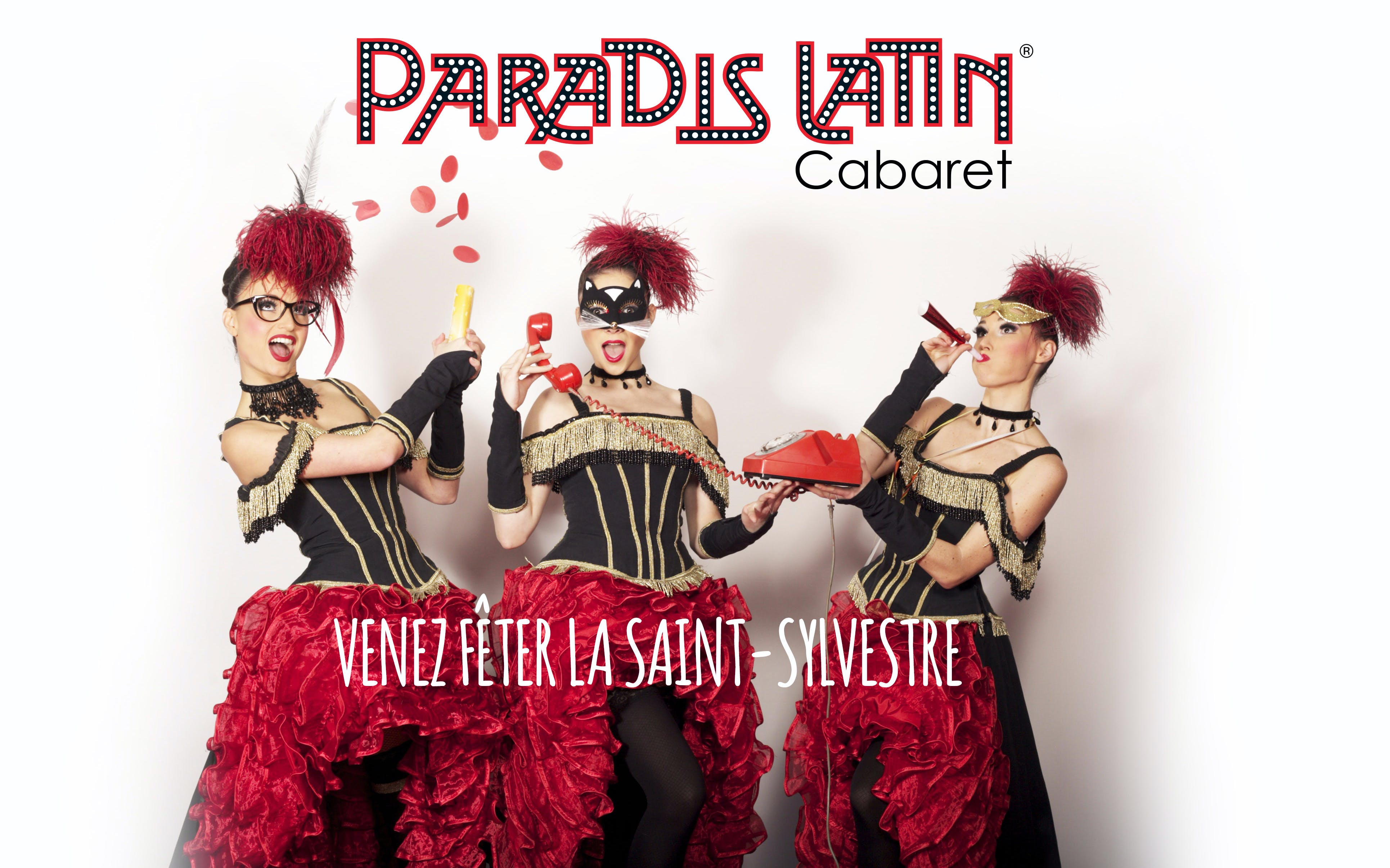 Christmas Eve Special: Paradis Latin Show + Dinner