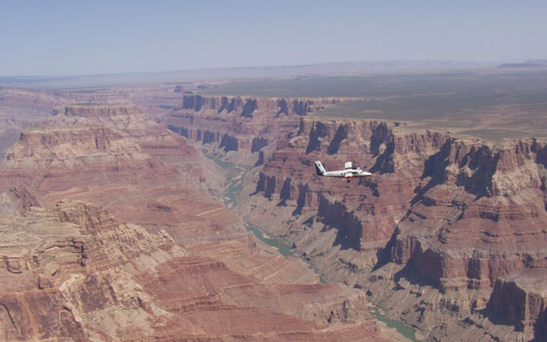 grand canyon west rim airplane tour-1